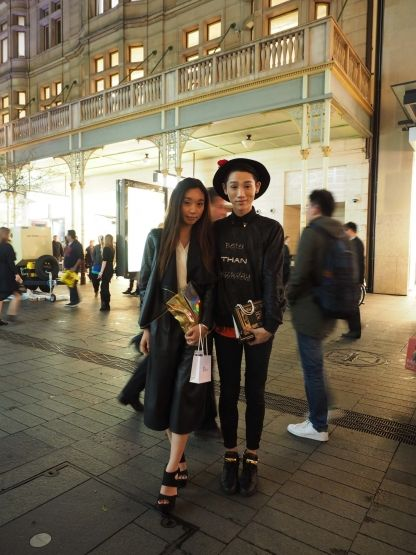 Street Style at Vogue Fashion's Night Out Sydney 2015:
