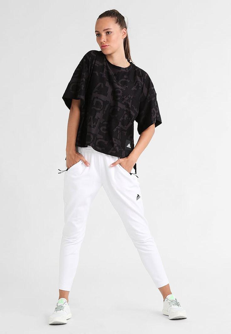 adidas performance z n e pantalon de survetement white prix promo jogging femme zalando
