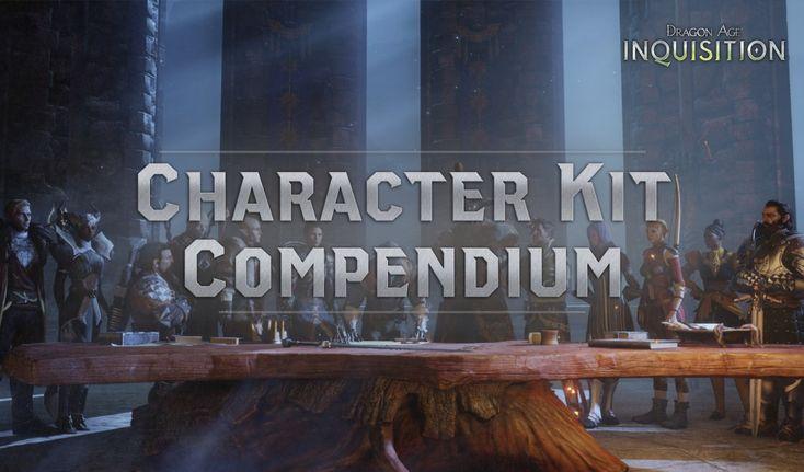 Dragon Age CharacterKitCompendium