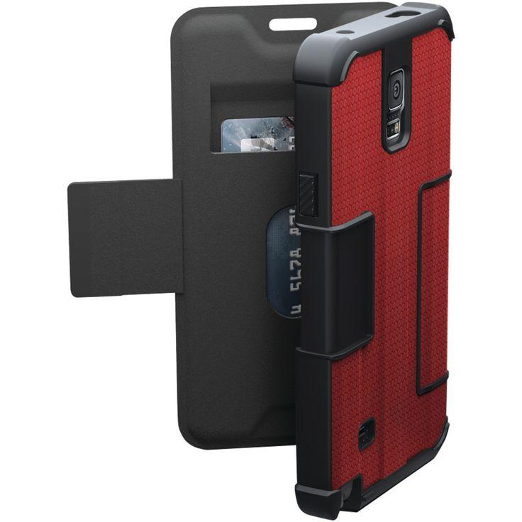 Urban Armor Gear Samsung Galaxy Note 4 Folio Case (rogue Red)