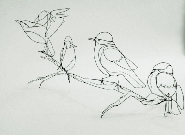 shelli markee silversmith — Birds up at MOMO!!!