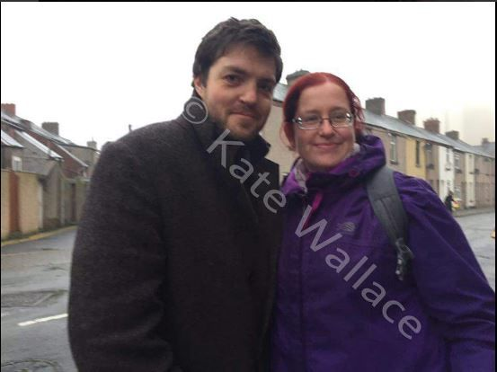 Tom_Burke_with_fan_filming_Cormoran_Strike_BBC_Jk_Rowling__1