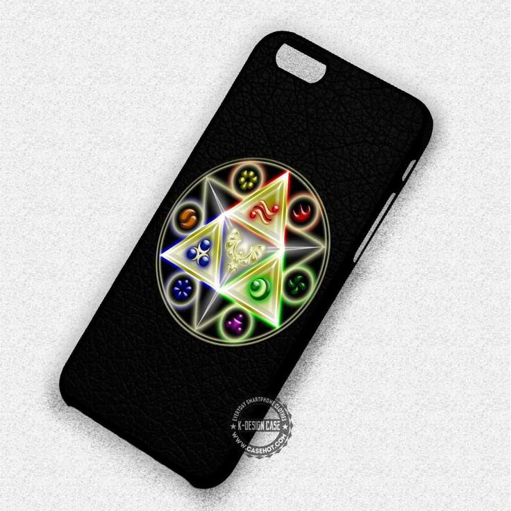Leather Signs Triangles Legend Of Zelda - iPhone 7 6 5S SE 4S Cases & Covers