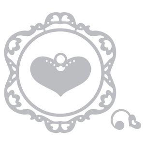 Sizzix.com - Sizzix Thinlits Die Set 3PK - Frame, Ornamental Love