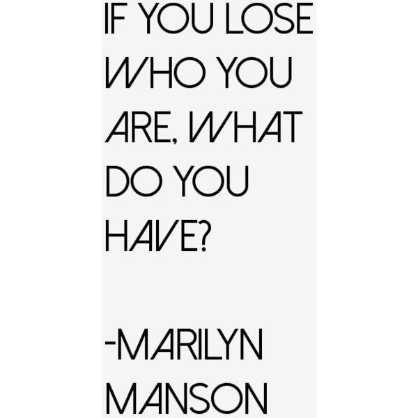 Marilyn Manson Quotes Sayings (Page 2) ❤ liked on Polyvore featuring quotes, text, phrase and saying