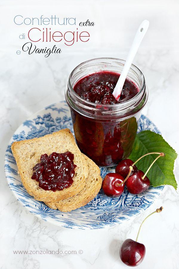 Cherry and vanilla Jam - Confettura extra di ciliegie e vaniglia   From Zonzolando.com