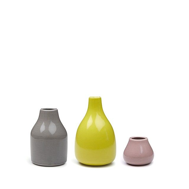 Botanica Vases Miniature 3-pack Light
