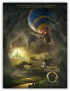 Le Monde fantastique d'Oz : découvrez les origines du « Magicien d'Oz » de L. Frank Baum, au cinéma le 3 avril 2013. http://www.actu-loisirs.com/2012/07/le-monde-fantastique-doz.html