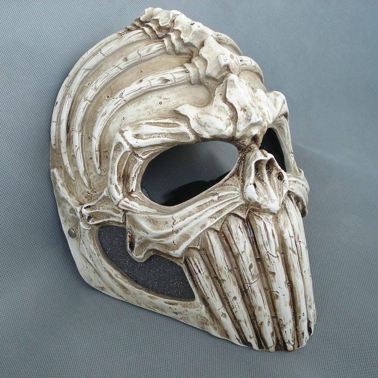 Resin Skull Mask