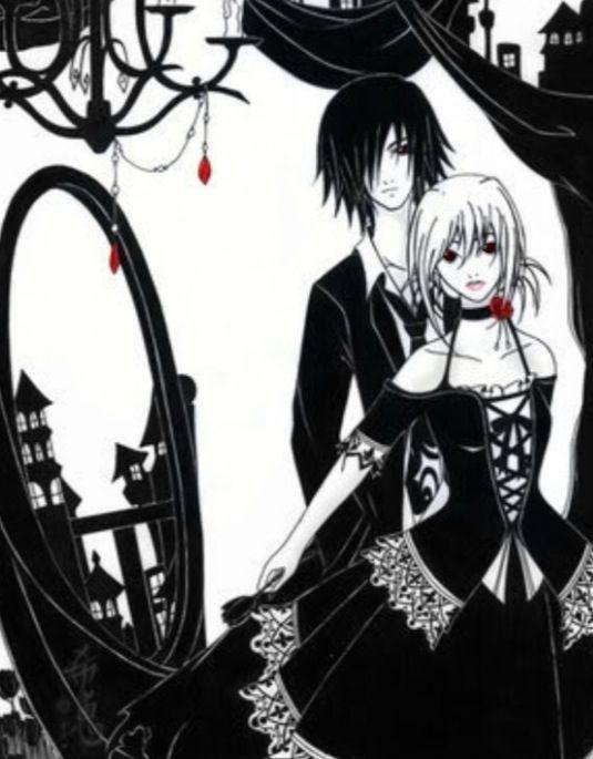Awesome anime couple kawaii pinterest colors - Dark anime couples ...
