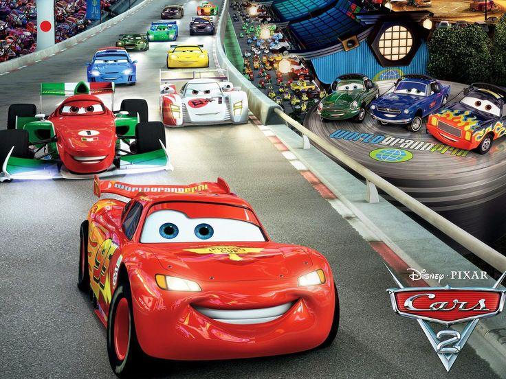 34 units of Disney Cars Wallpaper