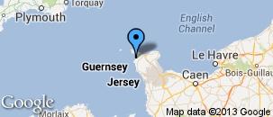 Route des Caps, kapen en stranden - tip - Normandie, Frankrijk