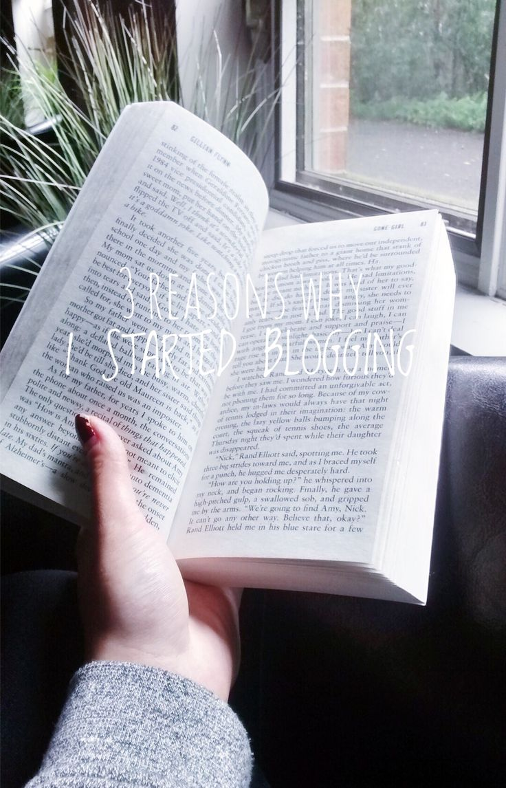 I just started blogging! Here's 3 reason's why!