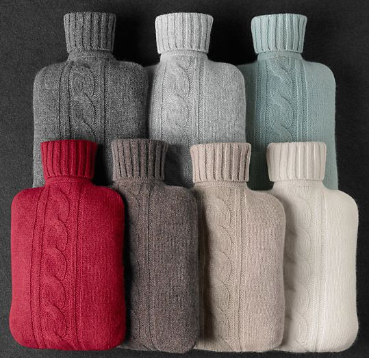 Hot Water Bottle |  http://www.apartmenttherapy.com/my-latest-obsession-the-hot-water-bottle-shopping-guide-198061
