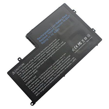 LIBOWER™ New Laptop Battery TRHFF 1V2F6 01V2F6 0PD19 for DELL Inspiron 15-5547 14-5447 11.1V 43Wh Li-Polymer 3cell (Black)