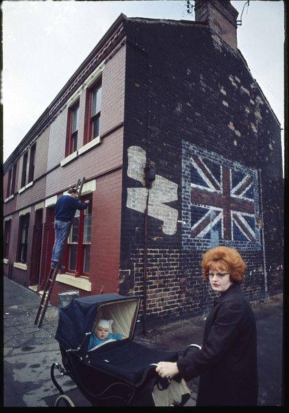 Redhead With Pram, Liverpool, England, United Kingdom, 1965, photograph by John Bulmer.