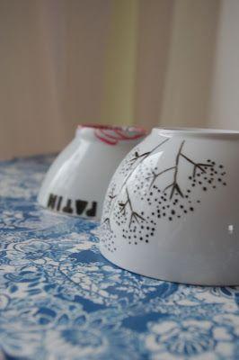 soisses-dasleben: DIY: porzellan verschönern