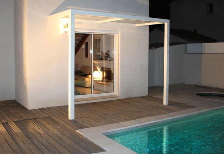 pergola aluminium lames orientables cassis plusieurs tailles pergolas. Black Bedroom Furniture Sets. Home Design Ideas
