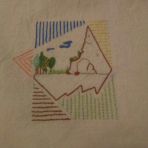 #stitch #handmade #totebag