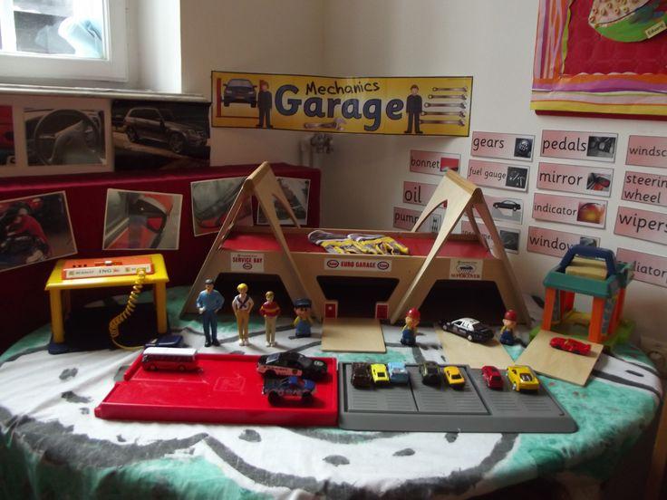 Garage area School Years @ Acorns Nursery Bucharest