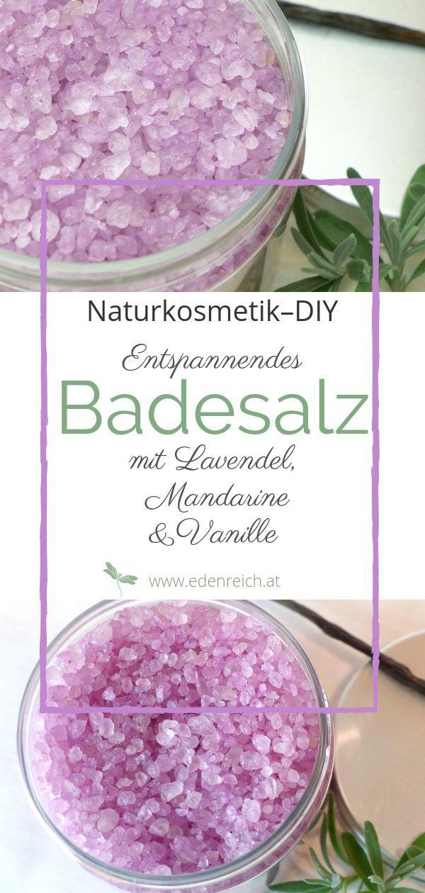 Badesalz-DIY: Selbstgemachtes entspannendes Badesalz mit ätherischen Ölen wie …