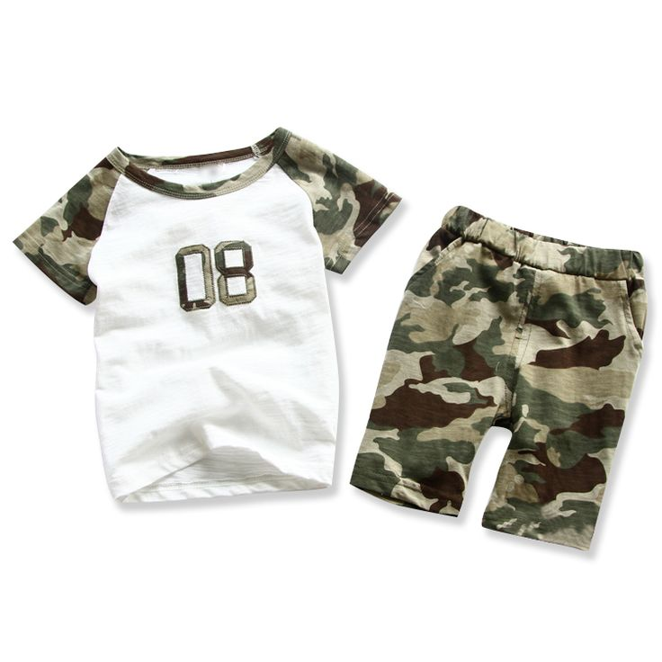 $18.90 (Buy here: https://alitems.com/g/1e8d114494ebda23ff8b16525dc3e8/?i=5&ulp=https%3A%2F%2Fwww.aliexpress.com%2Fitem%2F2016-summer-children-clothes-outfits-kids-boy-clothing-sets-cotton-green-camouflage-shirts-harem-camo-shorts%2F32666803709.html ) 2016 summer children clothes outfits kids boy clothing sets cotton green camouflage shirts harem camo shorts pants clothes suits for just $18.90