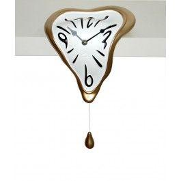 Ceasul a fost promovat de la birou pe perete si de la perete pe etajera - Ceas pentru etajera Goccia - Antartidee
