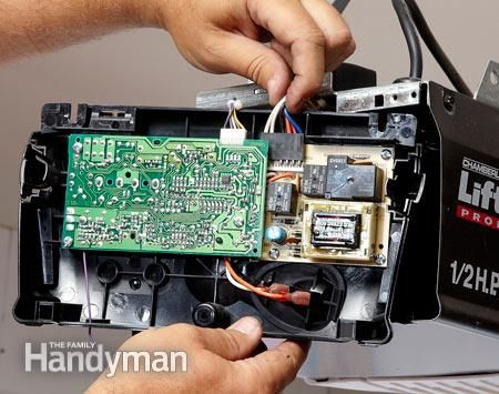 Replace the circuit board.  Garage door won't open? With a little troubleshooting you can usually avoid a costly service call and get your garage door opener working again in no time.