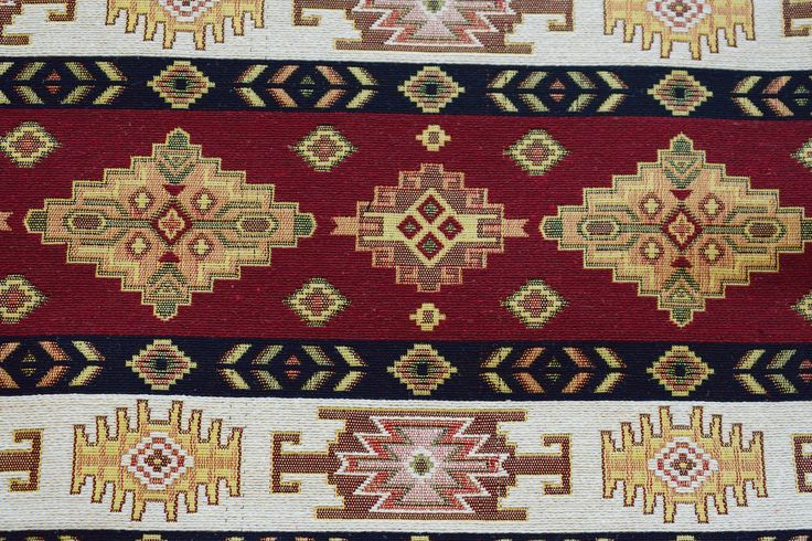 Carpet Fabric,Kilim Fabric,Geometric Fabric,Ethnic Fabric,Woven Fabric,Tribal Fabric,Turkish Fabric,Cotton Fabric,Upholstery Fabric by GFcraft on Etsy