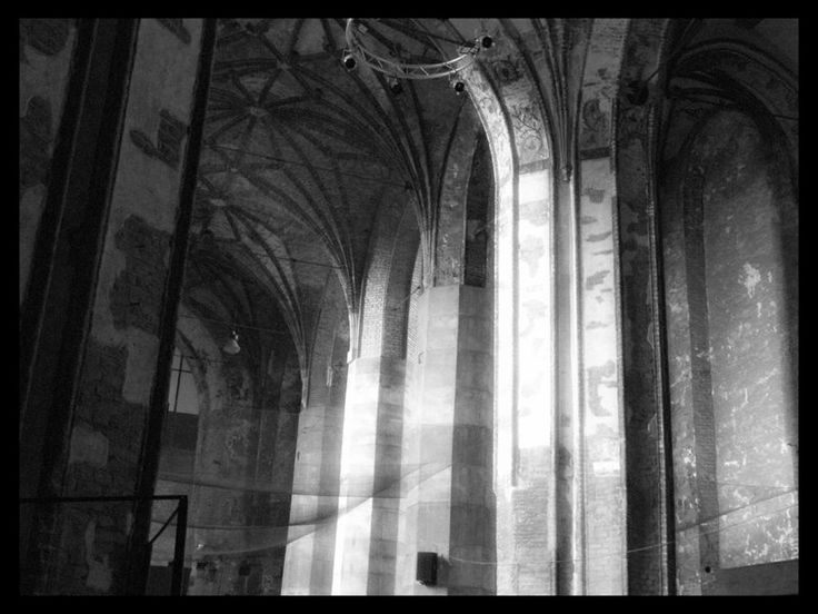 #gdansk #Poland #architecture The church of St. John before its renovation  The Passage in Time I by *outskywalker on deviantART