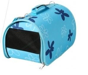 http://www.zoomalia.com/animalerie/panier-de-transport-flower-bleu-p-15282-c-832.html #sac #panier #transport #chat #voyage #train #voiture
