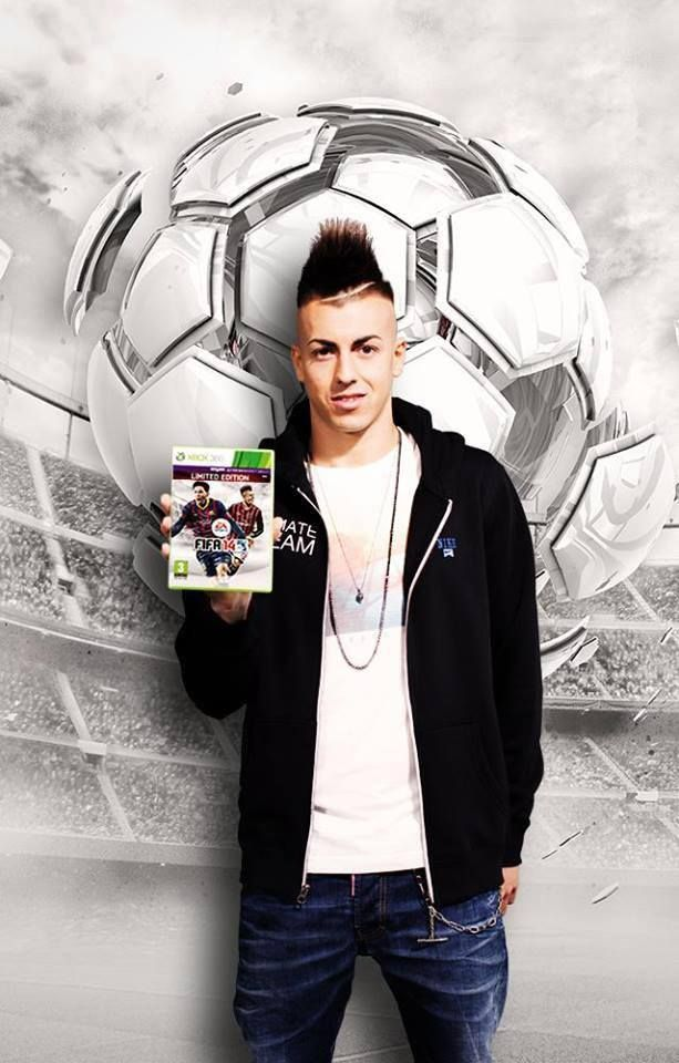 El Shaarawy with the new FIFA 14