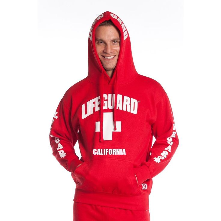 This Officially Licensed Lifeguard Hoodie Sweatshirt unique to the Lifeguard lifestyle and is always a preferred item. Crafted of cotton and polyester, this hoodie is white or grey with red text or re
