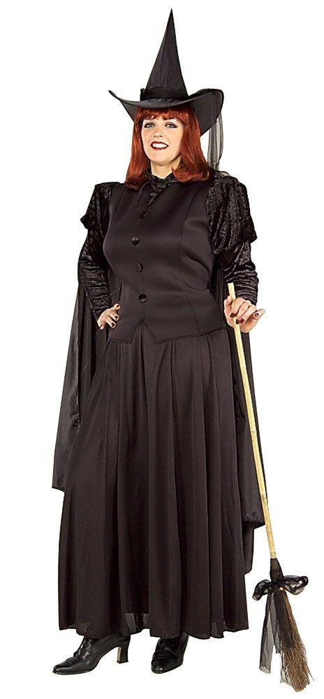 Classic Witch Costume Plus 22