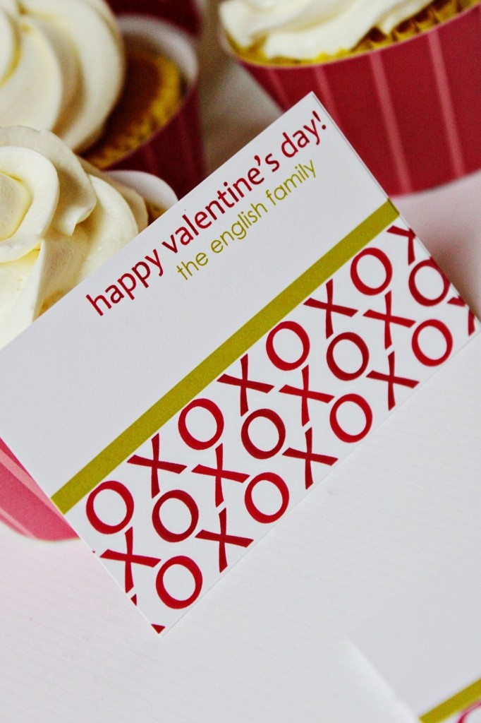 valentine calling cards and who doesn't love hugs and kisses. :)