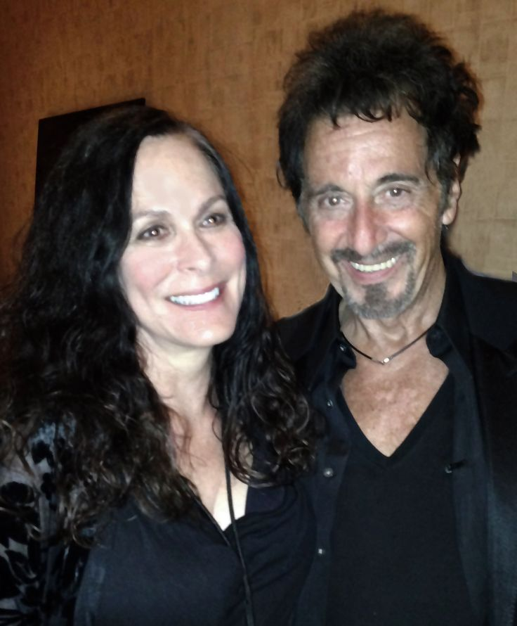 """Roberta Pacino and Al Pacino: This was taken after Al's """"One Night Only"""" show at the Mirage in Las Vegas on August 16, 2014."""