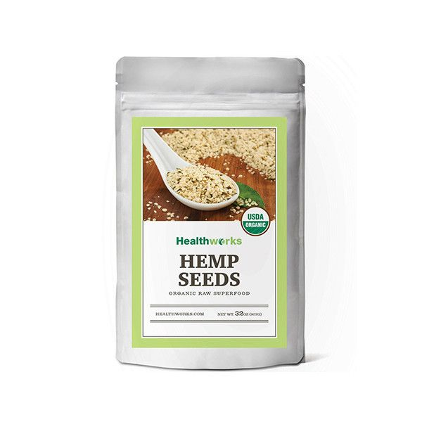 Healthworks Organic Hemp Seed, 2 LB