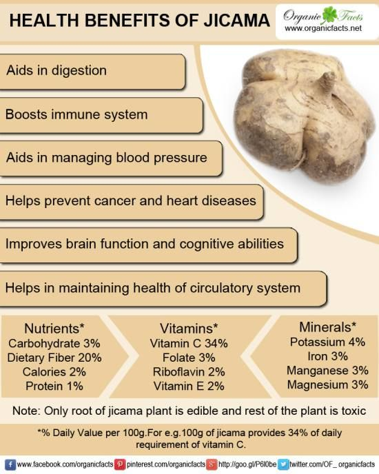 Health benefits of jicama include its ability to manage weight, optimize digestion, boost immune system, prevent various types of cancer and build strong bones.