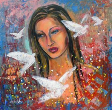 "Saatchi Art Artist areti ampi; Painting, ""Moments"" #art"