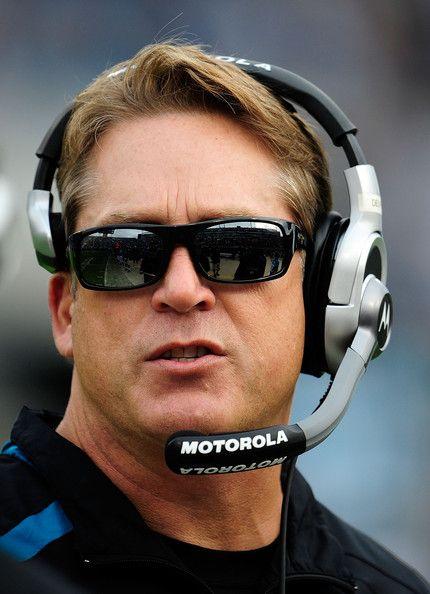 jack del rio | Head coach Jack Del Rio of the Jacksonville Jaguars watches the action ...