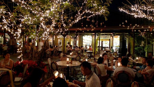 Made's Warung  Mades warung was established in 1969 and has become a social eating and meeting venue for locals, expats and tourists alike. It has grown from a traditional roadside warung into a cosmopolitan restaurant serving a variety of local and international food in Bali.