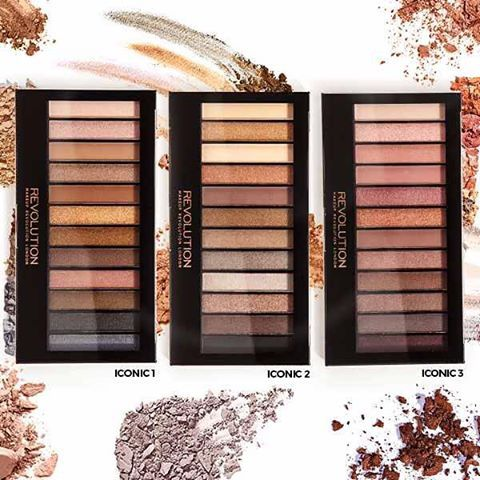 Iconic 1, Iconic 2 and Iconic 3 - our ORIGINAL palettes! We wonder what Iconic palette will be next? Comment below!#palette #iconic #makeup #makeuprevolution #revolution #beauty #cosmetics #bblogger #beautyblogger #makeupfan #makeuplover #mua #makeupartist #instamakeup #colour #dupe #dupethat #dupealert #maquillaje #maquillage #beautylover #kosmetika #makeupaddict #glam #makeupmafia #makeuptalk Web Instagram User » Collecto
