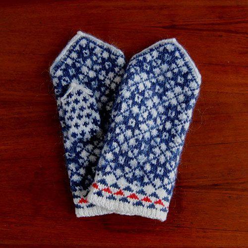 エストニアのミトン手袋/北欧