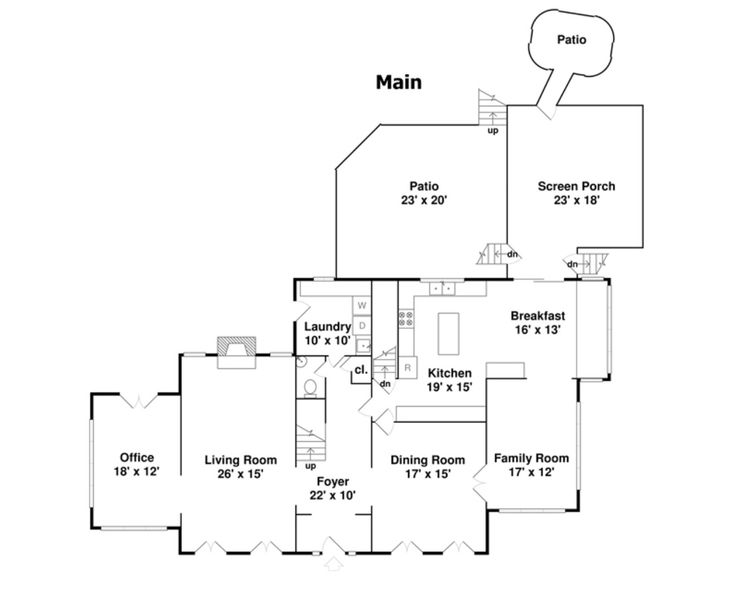 Father of the bride house floor plan thefloors co for Father of the bride house plan