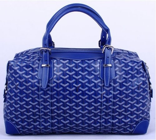 Amazing Goyard Travelling Bags 8758 Blue Cheap | St Louis Goyard Bag Price