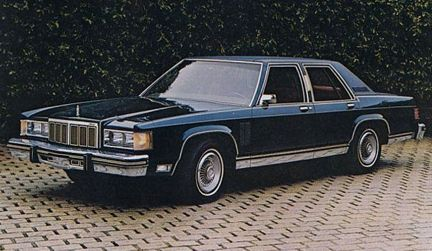 Image result for 1981 mercury grand marquis