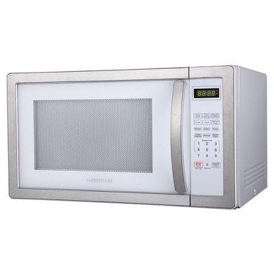 Farberware 1.1 Cu. Ft. 1000 Watt Microwave Oven - Stainless Steel (Silver)