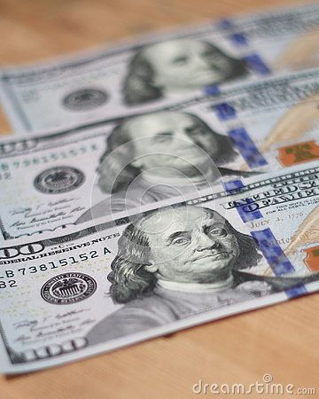 One Hundred Dollars - 100 Dollar Paper Money - Download From Over 60 Million High Quality Stock Photos, Images, Vectors. Sign up for FREE today. Image: 81222940