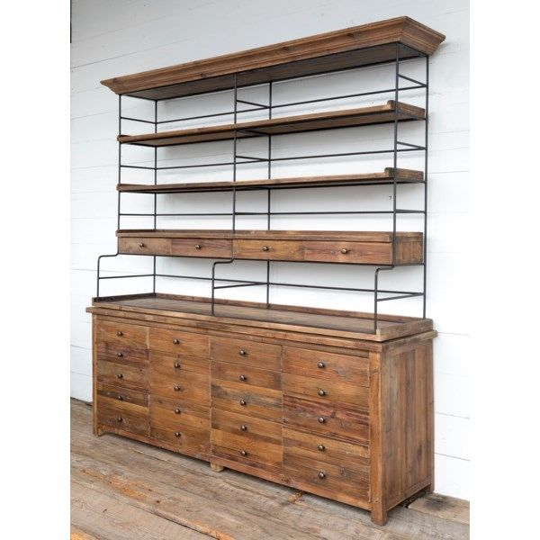Old Style Pine Double Bakers Rack In 2019 Bakers Rack
