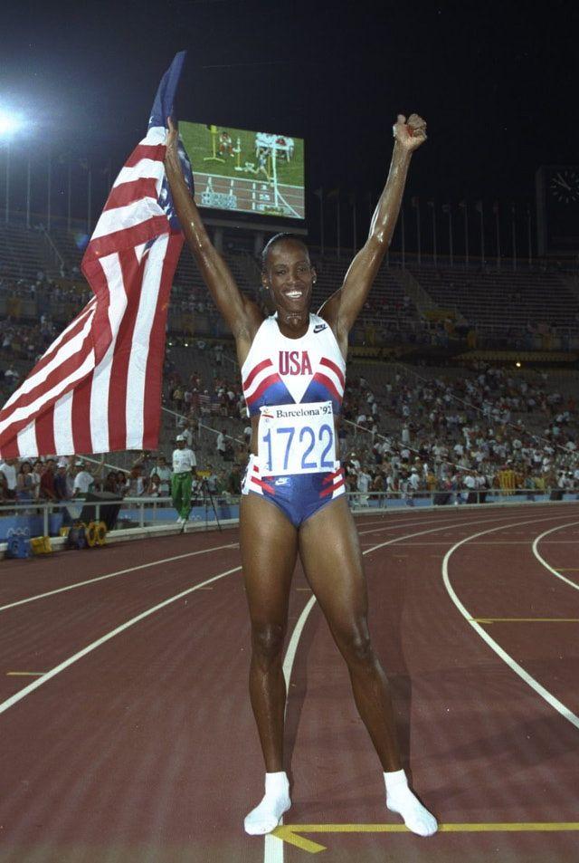 Jackie Joyner-Kersee | Jackie Joyner-Kersee - Product at Weblo.com. OS guld i sjukamp 1988 och 1992, Soul och Barcelona.
